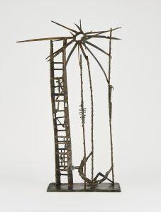 Sculpture in memory of Shoah