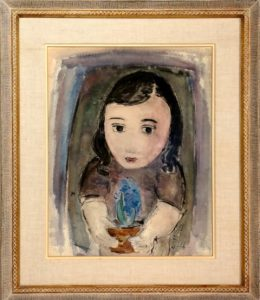 Untitled (Girl with Flowers)