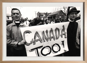 Civil Rights, Canadian Priests during March, Selma