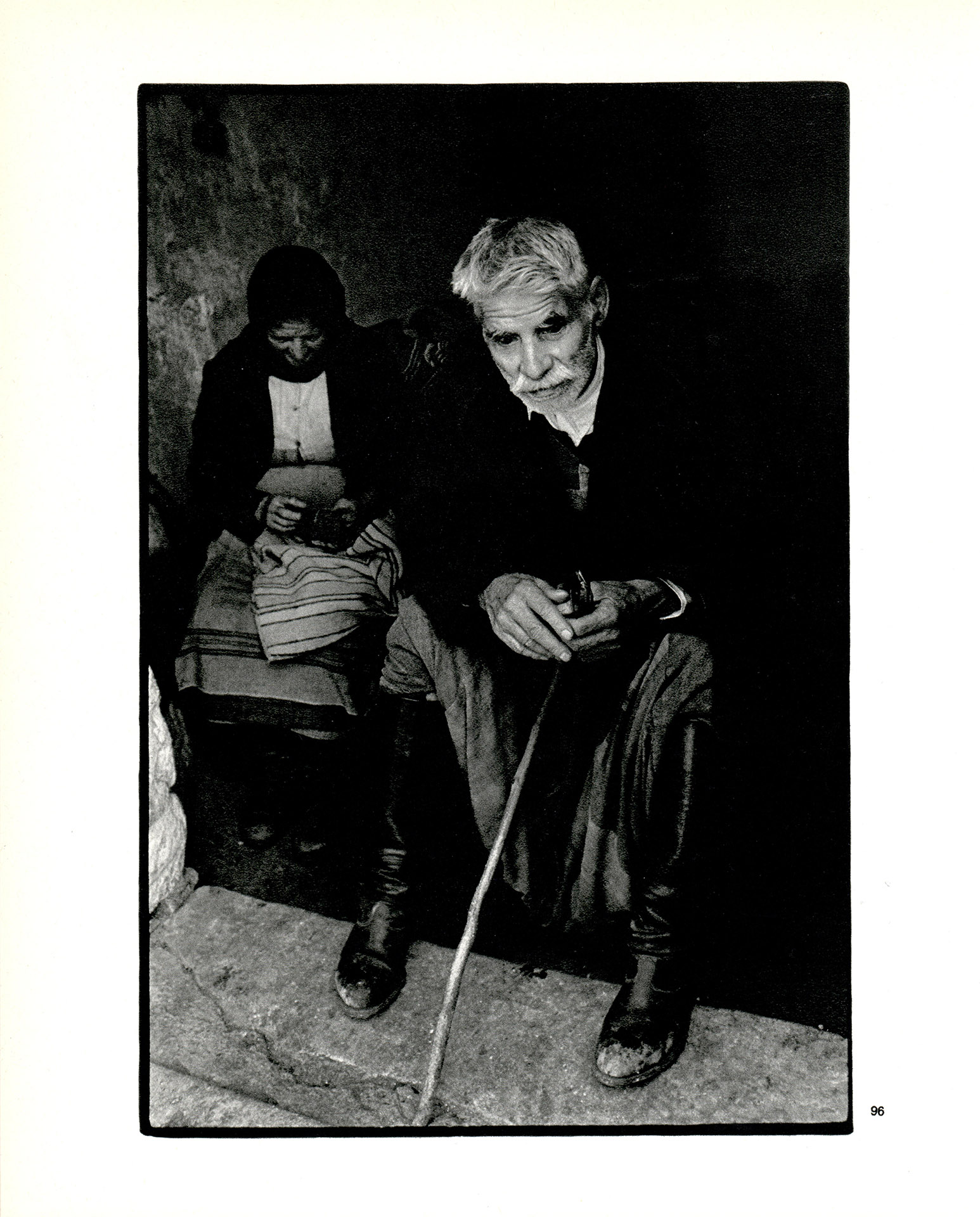 1.3 (6563) - A GREEK PORTFOLIO - BLIND MAN AT THE DOORWAY OF HIS HOUSE