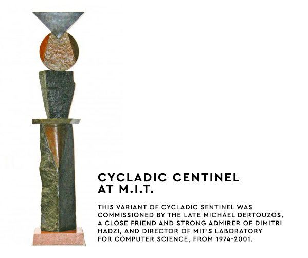 Cycladic Sentinel