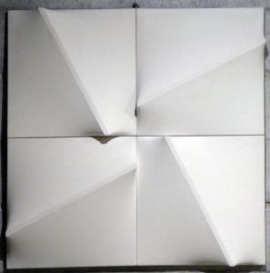 White Relief in 4 Pieces